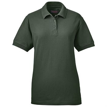 Women's Whisper Cotton/Poly Blend Pique Polo Shirt By UltraClub® - Personalization Available