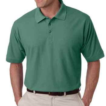 Men's Whisper Cotton/Poly Blend Pique Polo Shirt By UltraClub® - Personalization Available