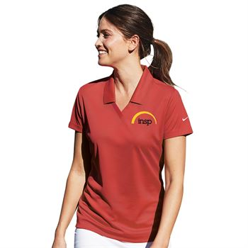 Nike® Dri-Fit Women's Micro Pique Polo - Personalization Available