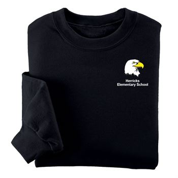 Jerzees® NuBlend Youth Crewneck Sweatshirt - Silkscreen Personalization Available