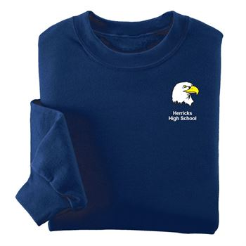 Jerzees® Adult NuBlend Crewneck Sweatshirt - Silkscreen Personalization Available