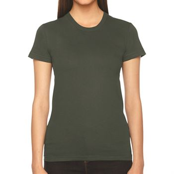 American Apparel Women's Fine Jersey Short-Sleeve T-Shirt