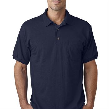 Gildan DryBlend ® 6-oz., 50/50 Jersey Polo W/Pocket