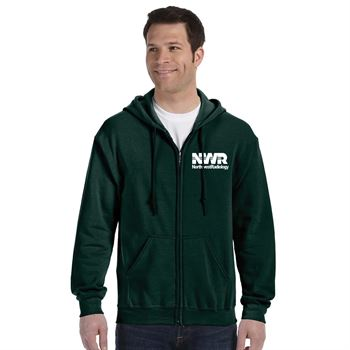 Gildan® Heavy Blend™ Full-Zip Hooded Sweatshirt: Premium Colors - Silkscreen Personalization Available
