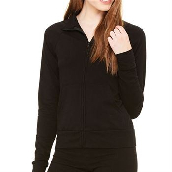 Bella + Canvas Ladies' Cotton/Spandex Cadet Jacket