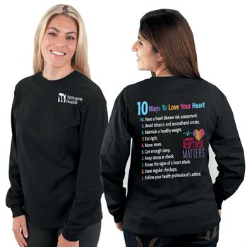 Every Heartbeat Matters Long-Sleeve 2-Sided T-Shirt - Personalization Available