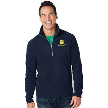 Port Authority® Men's Microfleece Half-Zip Pullover Jacket - Embroidery Personalization Available