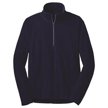 Men's Port Authority® Microfleece Half Zip Pullover Jacket - Embroidery Personalization Available
