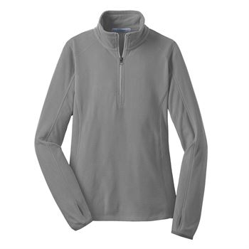 Women's Port Authority® Microfleece Half Zip Pullover Jacket - Embroidery Personalization Available