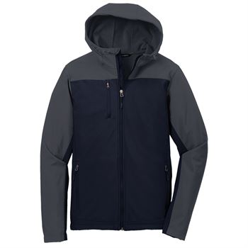 Men's Port Authority® Hooded Soft Shell Jacket - Embroidery Personalization Available