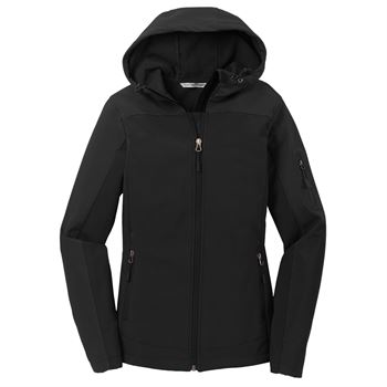 Women's Port Authority® Hooded Soft Shell Jacket - Embroidery Personalization Available