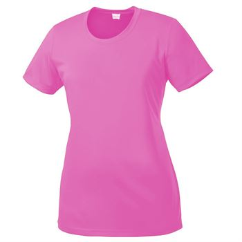 Women's Sport-Tek® Competitor Tee - Silkscreen Personalization Available