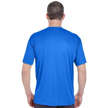 Men's Ultraclub Cool & Dry Basic Performance T-Shirt - Silkscreen Personalization Available