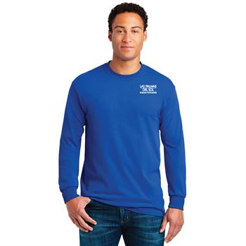 Gildan® Men's Heavy Cotton Long Sleeve T-Shirt: Premium Colors - Personalization Available