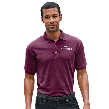 Gildan® DryBlend® 50/50 Jersey Polo: Premium Colors - Screenprint Personalization Available