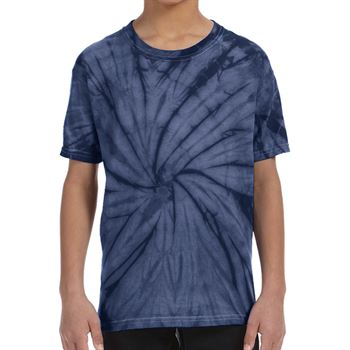 Heavy 100% Cotton 5-oz. Youth Fully Custom Tie-Dye T-Shirt