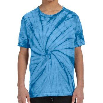 Heavy 100% Cotton 5-oz. Youth Fully Custom Tie-Dye T-Shirt