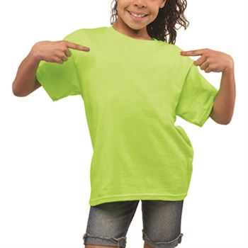 Heavy 100% Cotton 5-oz. Youth Fully Custom Neon T-Shirt