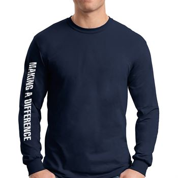Men's Long Sleeve T-shirt With Standard Design and Personalization