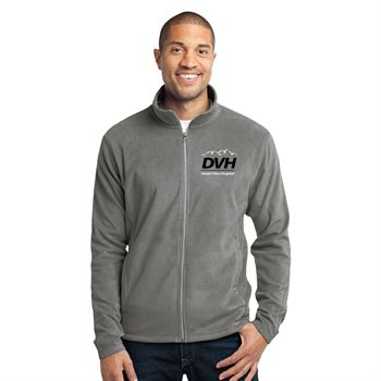 Port Authority® Men's Full-Zip Microfleece Jacket - Personalization Available