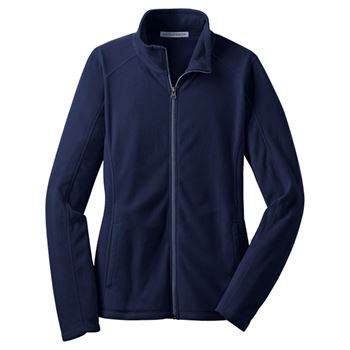 Women's Port Authority® Microfleece Full Zip Jacket - Personalization Available