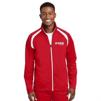 Sport-Tek® Tricot Track Jacket - Personalization Available