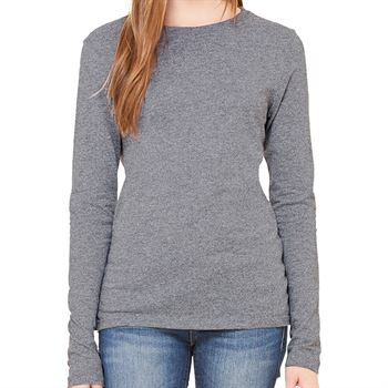 Bella + Canvas® Women's Jersey Long-Sleeve T-Shirt - Personalization Available