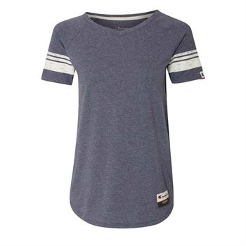 Champion® Womens Triblend Varsity Tee - Personalization Available