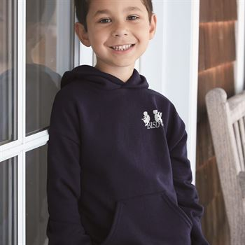 Hanes® Ecosmart Youth Hooded Sweatshirt - Personalization Available