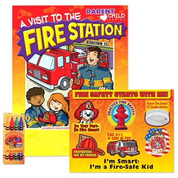 A Visit To The Fire Station Grades Pre-K Thru Kindergarten Value Kit