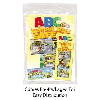 ABCs Of School Bus Safety Grades Pre-K - 1 Value Kit