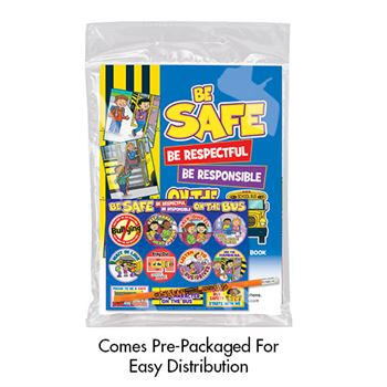 Be Safe, Be Respectful Be Responsible On The Bus Grades 2-5 Value Kit