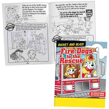 Grades 1-2 Fire Safety Educational Activity Pack