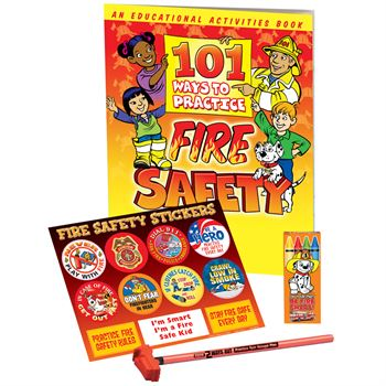 101 Ways To Practice Fire Safety Grades 3-4 Fire Safety Educational Activity Pack