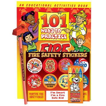 Grades 3-4 Fire Safety Educational Activity Pack