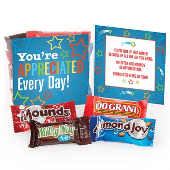 You're Appreciated Every Day! Treat Pack