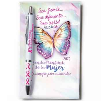 2020 Women's Monthly Planner & Pen Value Gift Set Spanish Version