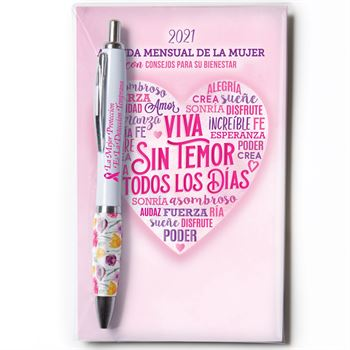 2021 Spanish Language Women's Monthly Planner & Pen Value Gift Sets
