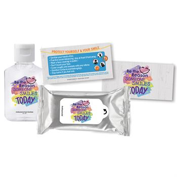 Be The Reason Someone Smiles Today Positive Message Self-Protection Kit