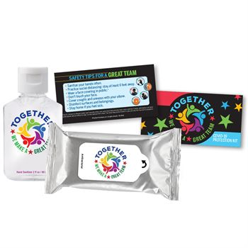 Together We Make A Great Team Positive Message Self-Protection Kit