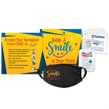 Keep A Smile In Your Voice COVID-19 Protection Kit
