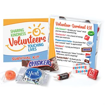Volunteers: Sharing Kindness, Touching Lives Survival Kit
