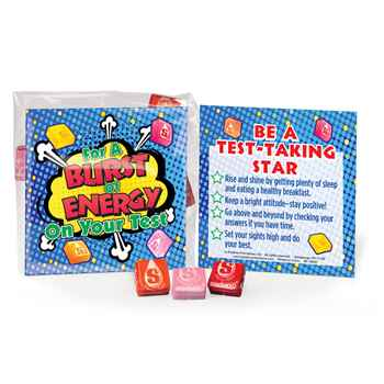 For A Burst Of Energy On Your Test Starbursts® 25-Piece Treat Pack
