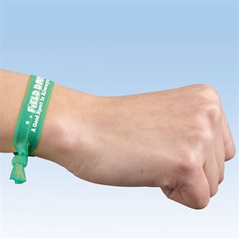 Field Day: A Good Sport Is Always A Winner Stretch Wristband With Pledge Card