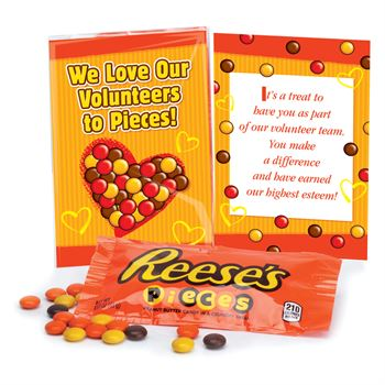 We Love Our Volunteers To Pieces! Reese's® Pieces Treat Pack