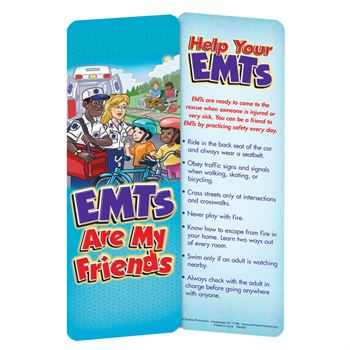 EMTs Are My Friends Educational Activity Pack - Personalization Available