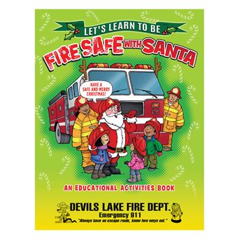 Santa Knows Fire Safety 99¢ Value Kit - Personalization Available