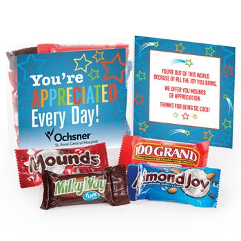 You're Appreciated Every Day! Treat Pack - Personalization Available