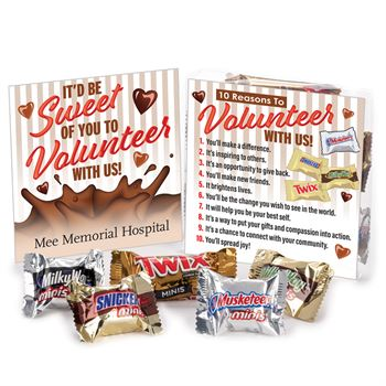 It Would Be So Sweet For You To Volunteer With Us Treat Pack
