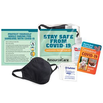 Stay Safe From COVID-19 Caregiver Kit - Personalization Available